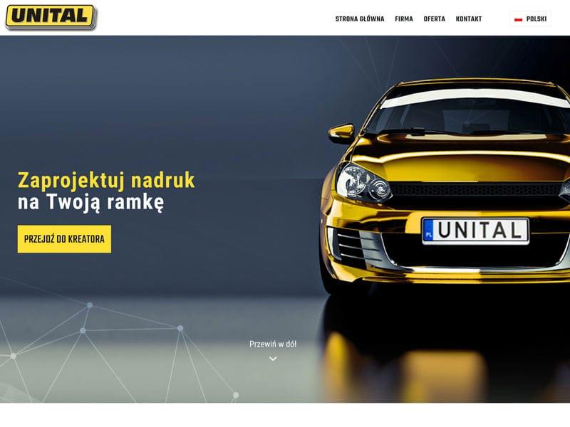 Zmiany na stronie Unital